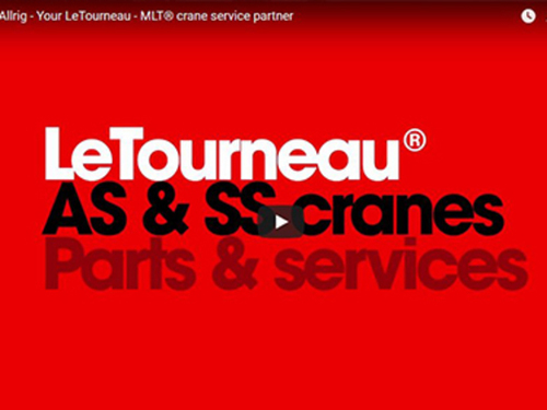 LeTourneau cranes parts & services